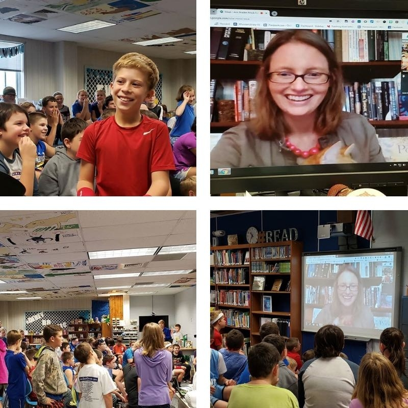 Mock Newbery Club Skype
