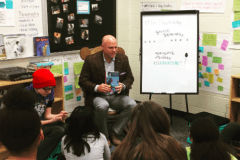 A Visit from the Superintendent Who Reads the 1st Chapter of Octopus Aloud